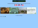Family Ancestry - Linking the present with the past.