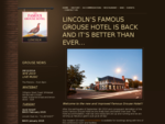 Welcome to the Famous Grouse Hotel | Lincoln, New Zealand