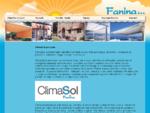 Domača spletna stran podjetja Fanina d. o. o. Podjetje izdeluje visoko-kakovostne pergole, nadstr