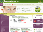 Farmacia online Farmattiva. it parafarmaci, cosmetici, integratori