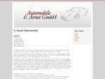 F. Arnet Automobile