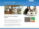 Fashionline Blinds Adelaide | Folding Arm Awnings | Ziptraks | Roman Blinds | Patio Blinds Adela