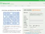 FatSecret Österreich - Alle Lebensmittel und Diät