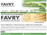 Emballage alimentaire - Favry emballage