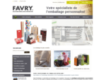 Solutions Eco emballage et Packaging alimentaire personnaliseacute; - Favry