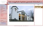 Freie Evangelische Baptisten-Gemeinde Bickenbach e. V.