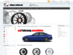 www. felgen-online. de Dein großer Felgen- und Komplettradshop
