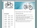 Velkommen til Felgen - Hele Oslos sykkelverksted! Frog Bikes - Lette barnesykler! Brukte og nye ..