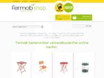 Fermob Gartenmöbel versandkostenfrei Tisch Stuhl Dune Bistro Floreal Luxembourg