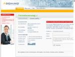 fernsteuerung.at im Adomino.com Domainvermarktung Netzwerk