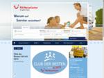 TUI ReiseCenter Willkommen