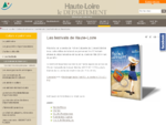 Les festivals de Haute-Loire - Conseil général 43 culture, sports et loisirs, économie et tourism