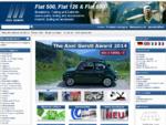 Fiat 500 , Fiat 126 | Ersatzteile u. Shop, Tuning Tieferlegung , Service, Kaufberatung, Onderdelen ...