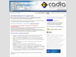 CADIA Software für kleine und mittlere Unternehmen Eine gute Sache braucht eine Vision