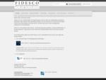 Fidesco Vermogensadvies - Fidesco Vermogensadvies