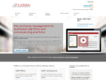 Legal file archiving and file storage for law firms and conveyancers FileMan