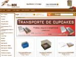 Embalagens para cupcake FineBOX - Caixa para Cupcake - mini cupcake - Bem casados - Casamento - e