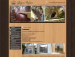 Фирма Корона Дагестан Деревянные лестницы на заказ. Производство лестниц из дерева. Изготовление л