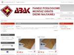 ABAK - Panele podłogowe , MONTAŻ GRATIS , drzwi najtaniej