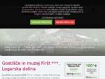 Gostišče in muzej Firšt, Logarska dolina - Solčavsko – gostilna, prenočišča, domača hrana, 135-l