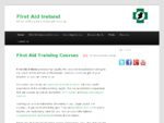 First Aid Ireland - First Aid Classes