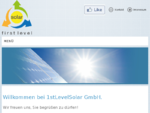 1stLevelSolar GmbH. - 1st Level Solar