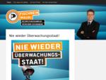 Mauri Fischbein, Piratenpartei München, Direktkandidat, Bezirkstag 2013