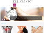 Rehabilitácia, fyzioterapia, ortopedická poradňa | Fitclinic