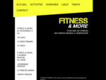 FITNESS MORE - Accueil