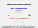 FITNESSADRESSE. DE Nahrungsergänzungen Sportgeräte Bodybuilding Fitness