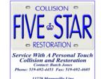 Fivestar Collision And Restoration