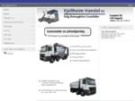 Fjellheim handel AS. Salg av betongbiler og lastebiler.
