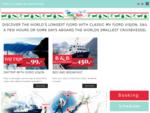 FJORD VISJON - The ultimate fjord cruise experience!