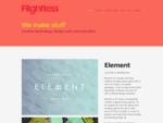 Flightless | Creative technology, design and communication.