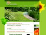 Záhradnícke centrum - kvetinárstvo FLORABEL ... váš domov spojený s prírodou