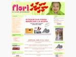 BORDADOS FLORI, - Personalización textil - Con tu nombre, logo o idea. Bordados personalizados,