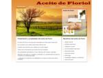 Presentación - Aceite de Floriol
