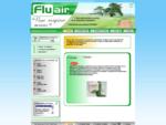 Fluair vente à distance réhabilitation respiratoire, trachéotomie, urologie, flutter..