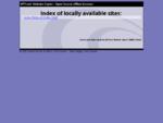 Local index - HTTrack Website Copier