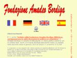 Fondazione Amadeo Bordiga, Ente Morale