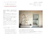 Suzanne Réolon Sculpteur de fontaine sur mesure, mur d'eau, fontaine d'intérieur ou d'extérieur