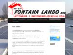 Fontana Lando Srl | Lattoneria, Impermeabilizzazioni e Bonifica Amianto