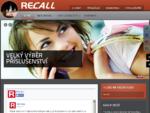 WWW. RECALL. CZ - velkoobchod s příslušenstvím