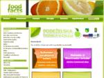 Food Facts - Vse o hrani - Domov