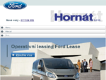 FORD HORNÁT PLZEŇ - Autorizovaný dealer společnosti FORD - Novinky