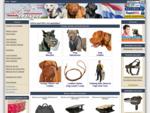 Hondenwinkel met breide keuze van muilkorven, tuigen en halsbanden!