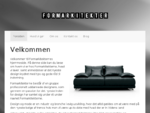 Formarkitekter. dk | Fremstiller sofaer, tv-mà¸bler, og meget mere.