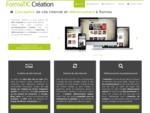 Confiez à FormaTIC Création la réalisation de votre site Internet optimise...