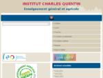 à‰tablissement privé d039;enseignement général et agricole - Institut Charles Quentin | ...