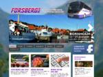 Bussbolag, Bussresor, Hyra Buss Uppsala - Forsbergs Buss